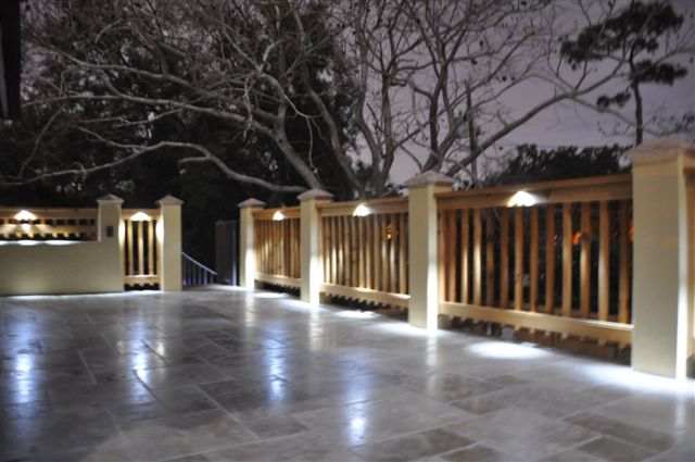 wood deck led lighting system i lighting llc