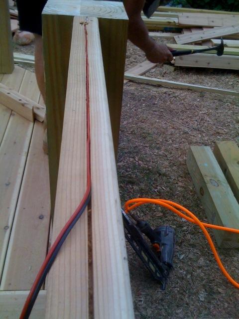 wood deck kits